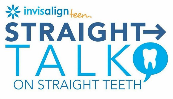 Straight Talk on Straight Teeth with Invisalign Teen Clear Braces.