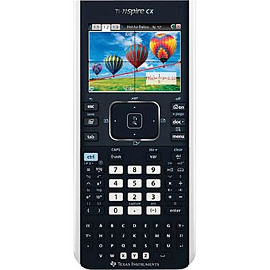 Back to School with Texas Instruments® TI-Nspire CX Graphing Calculator Giveaway