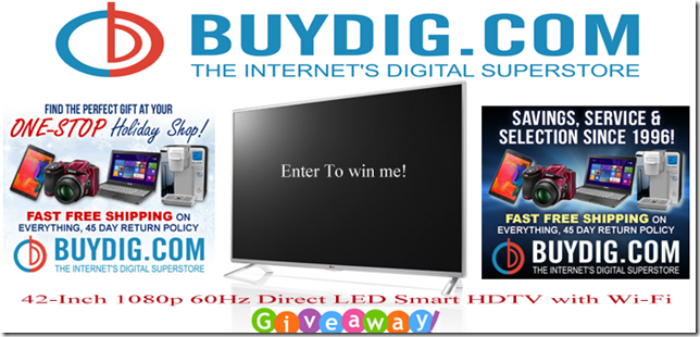 BuyDig Com 42 Inch 1080p 60HZ Direct LED Smart HDTV