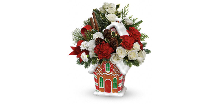 2014 Top Pick Holiday Gifts, presents for everyone!#Teleflora's Gingerbread Cookie Jar Bouquet