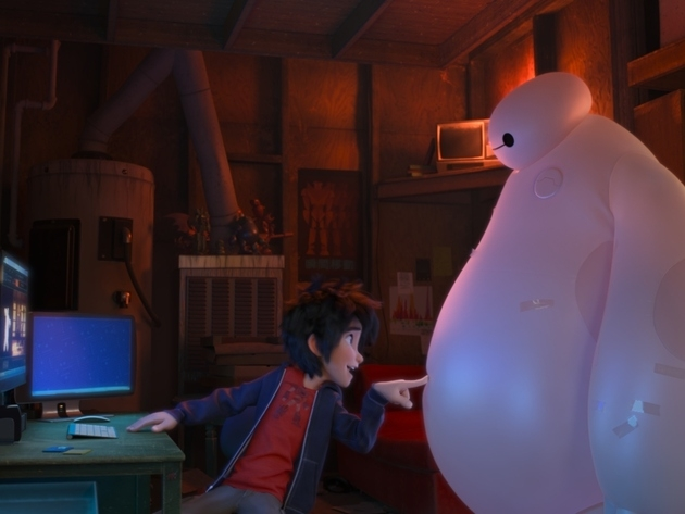 Disney Big Hero 6 on Blu-ray™ + DVD + Digital HD , get ready to be entertained!