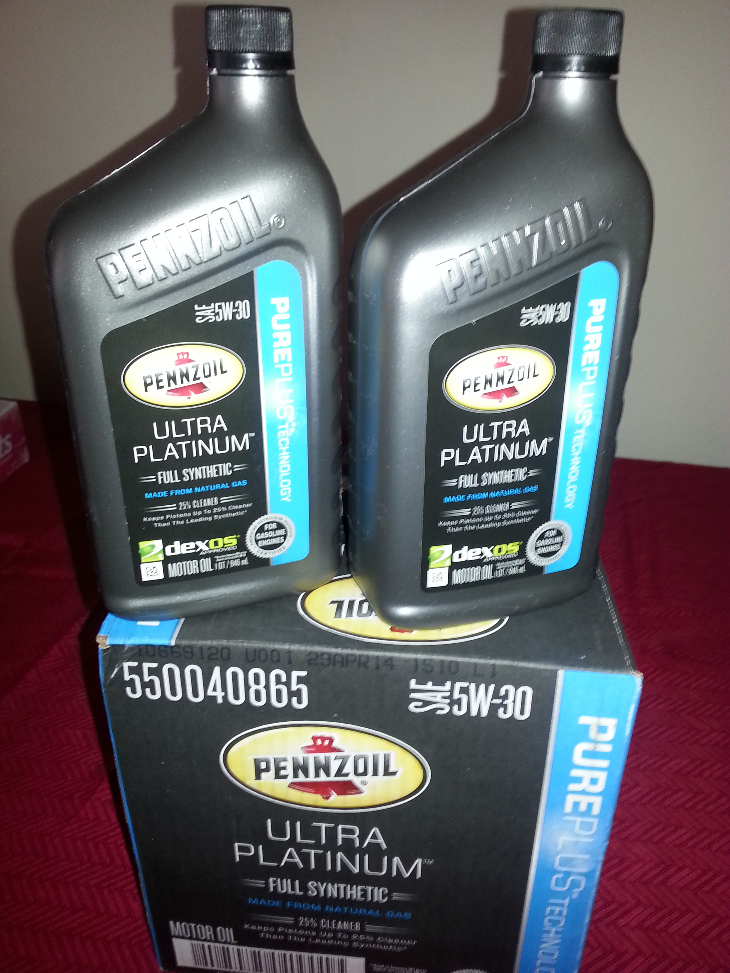 Happy Valentines Day from Pennzoil Full Synthetic Motor Oil  , the unique gift for your vehicle!