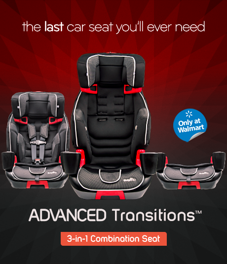 Evenflo ADVANCED Transitions™ 3-in-1 Combination Seat , one of the