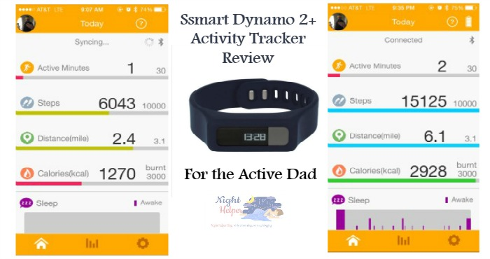 Ssmart Dynamo 2 Activity Tracker