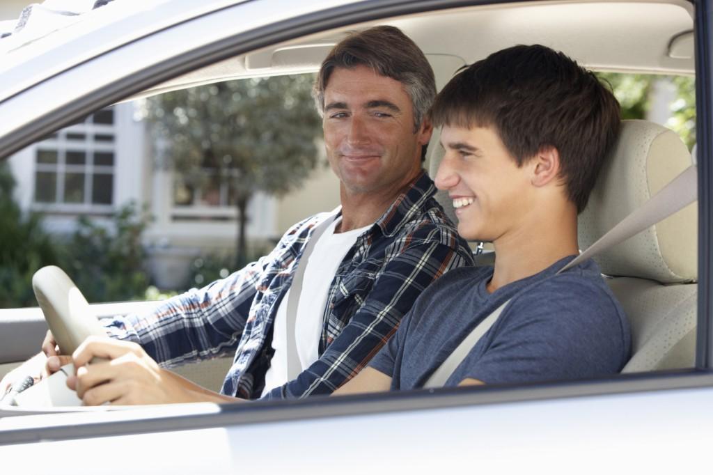 Teaching teen to drive