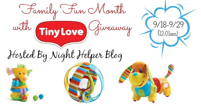 Tiny Love Giveaway