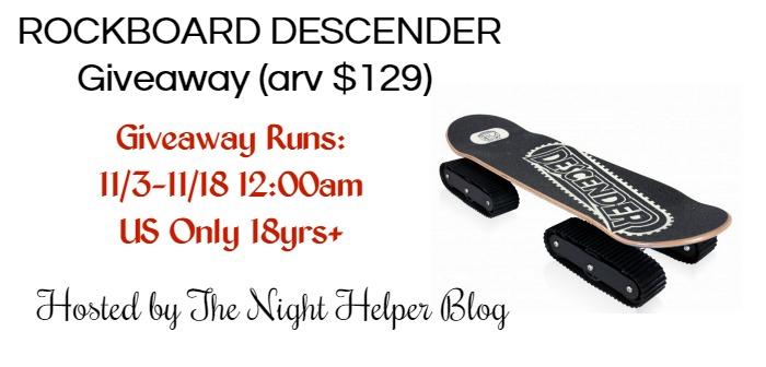 rockboard descender giveaway