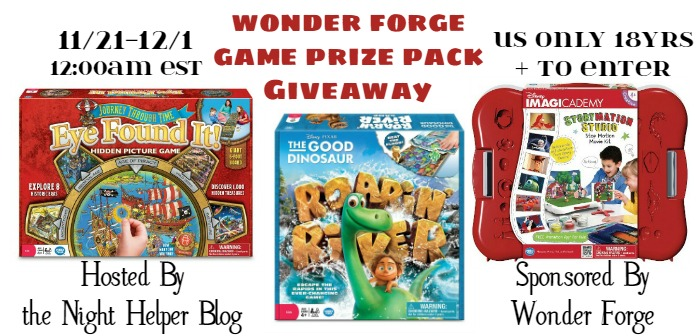 wonderforge giveaway-nh