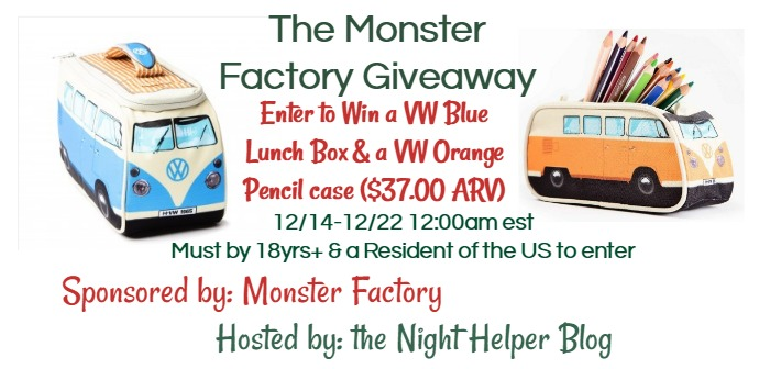 the monster factory giveaway