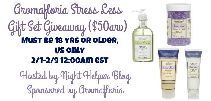 aromafloria stress less ga