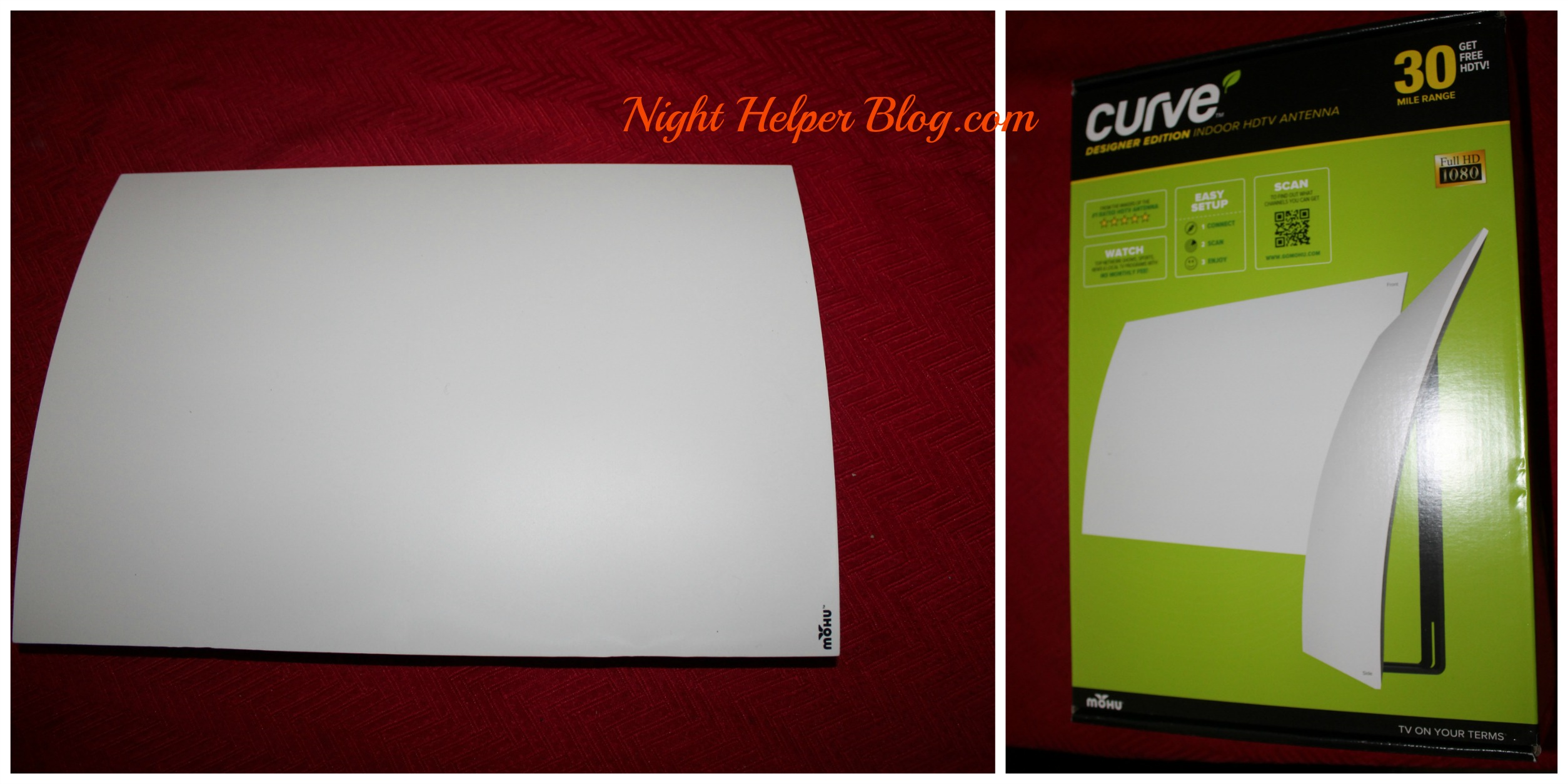 Happy Valentine's Day from Mohu Curve 30-50 Indoor HDTV Antenna.