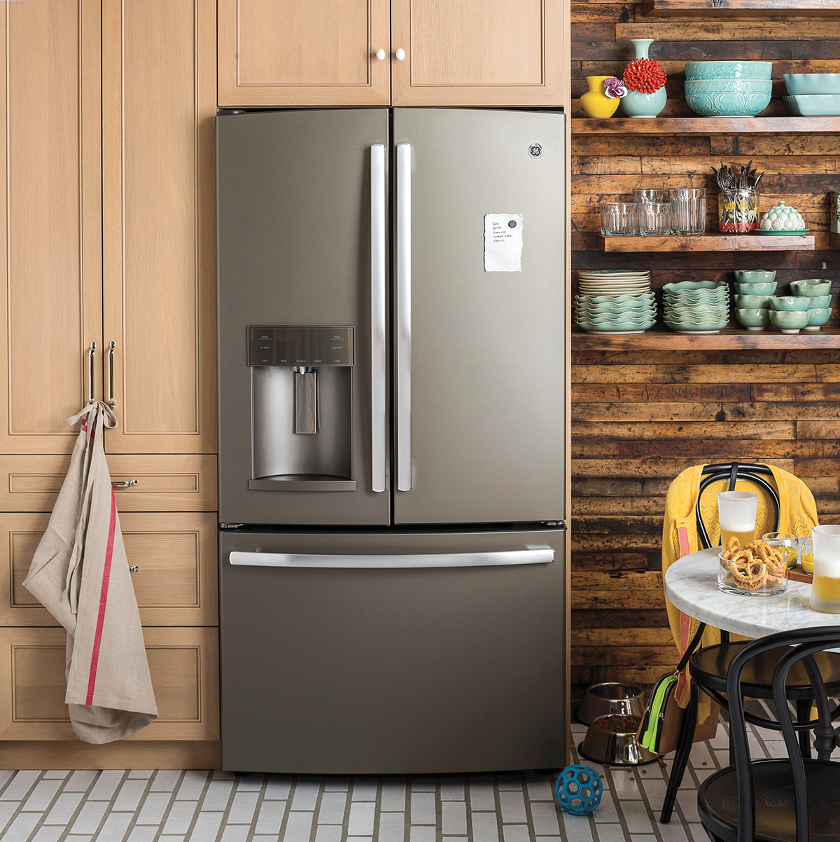 Spice Up Your Kitchen With Ge S New Slate Finish Appliances
