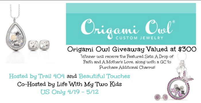 Origami Owl GA Button