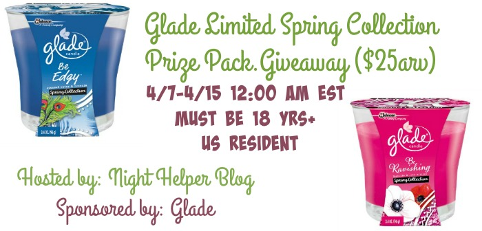 glade limited spring giveaway