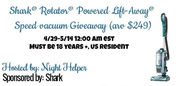 Shark® Rotator® Powered Lift-Away® Speed vacuum!