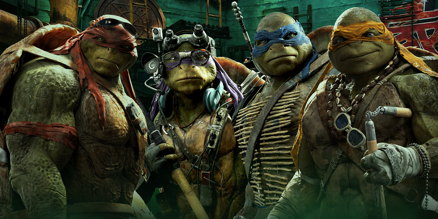 Teenage Mutant Ninja Turtles Come Out of the Shadows With Action-Packed Movie Toy Line.