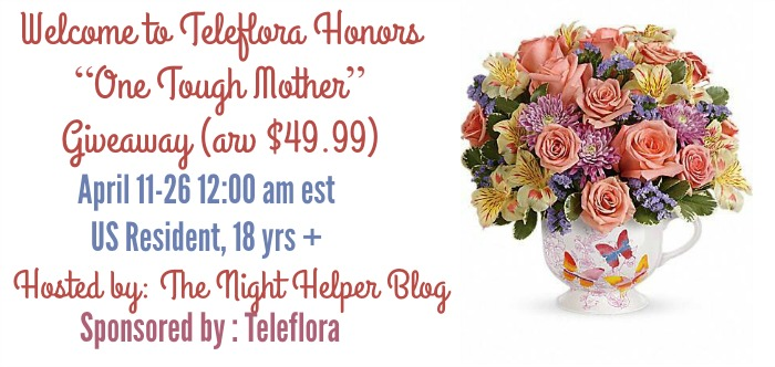teleflora honors one tough mother