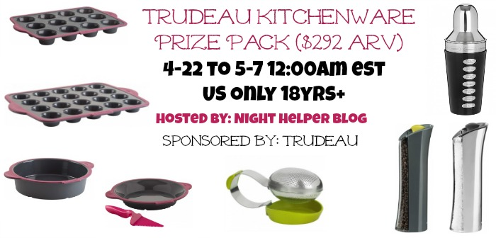 trudeau kitcheware prize pack