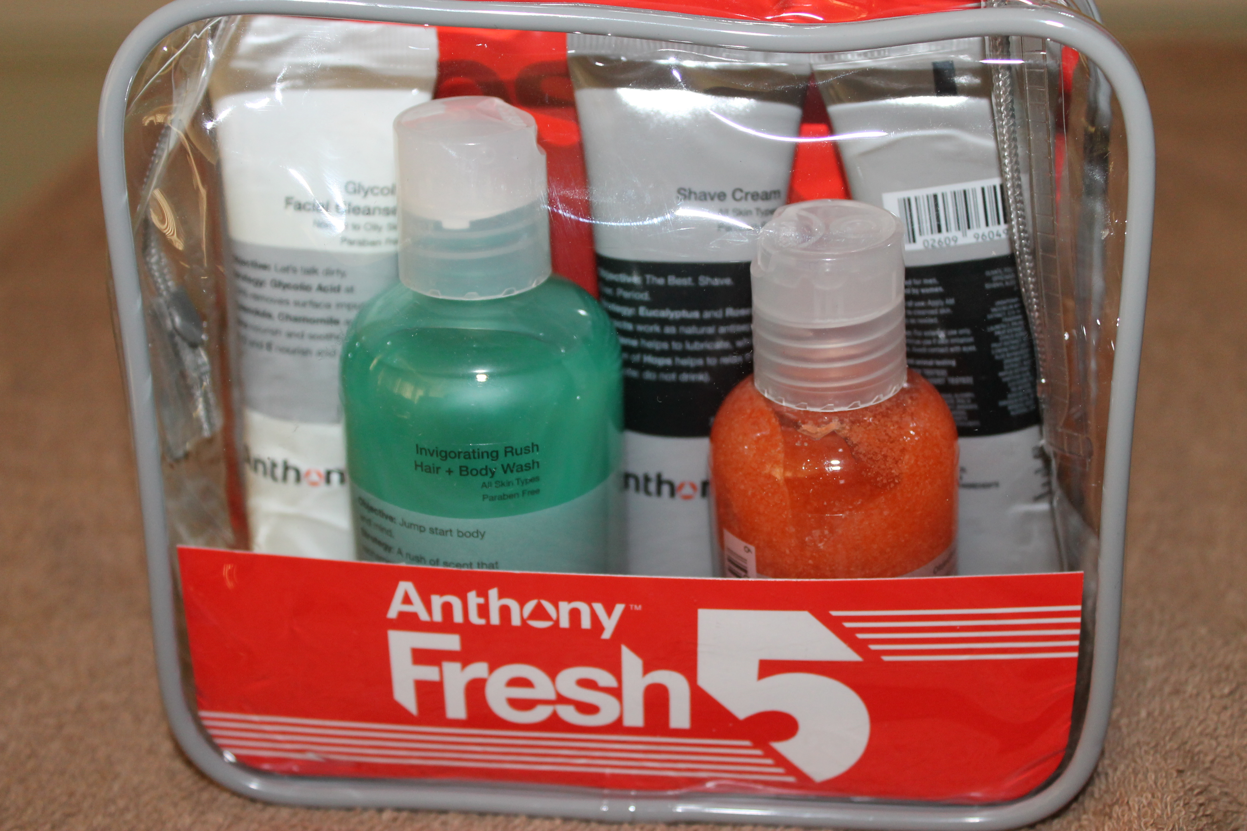 Happy Father's Day  From Anthony , Fresh 5 Skincare Kit!