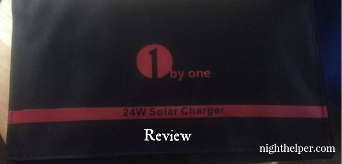 1byone 24w solar charger