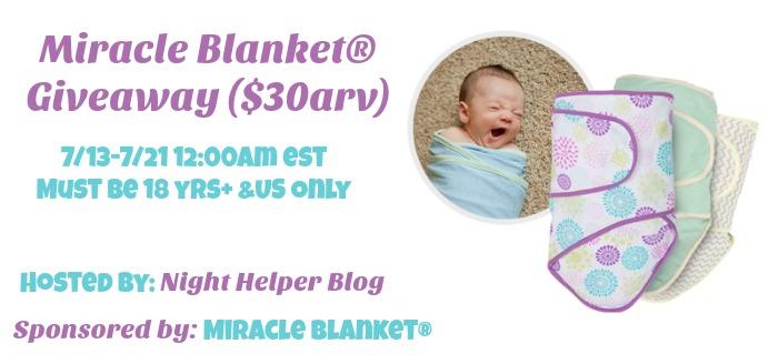 miracle blanket giveaway