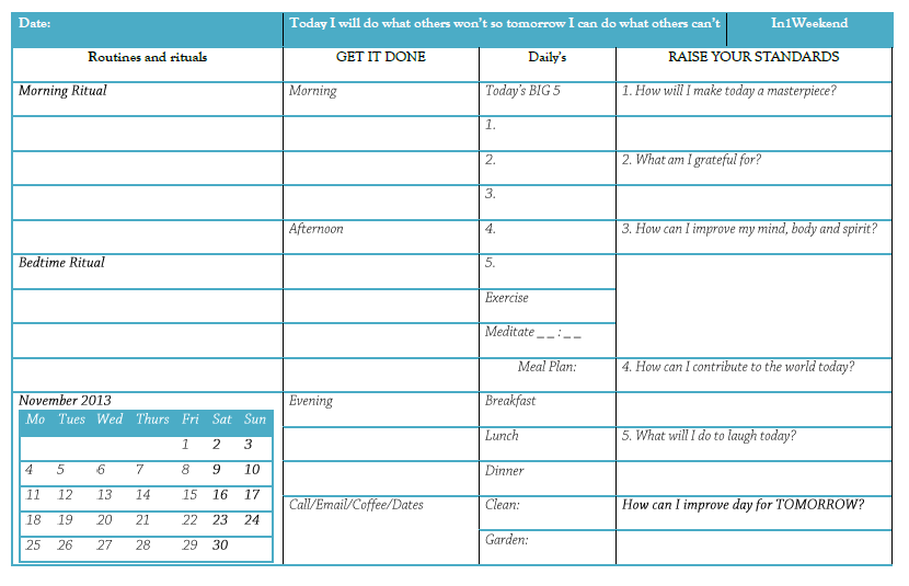 office daily planner template - Romeo.landinez.co
