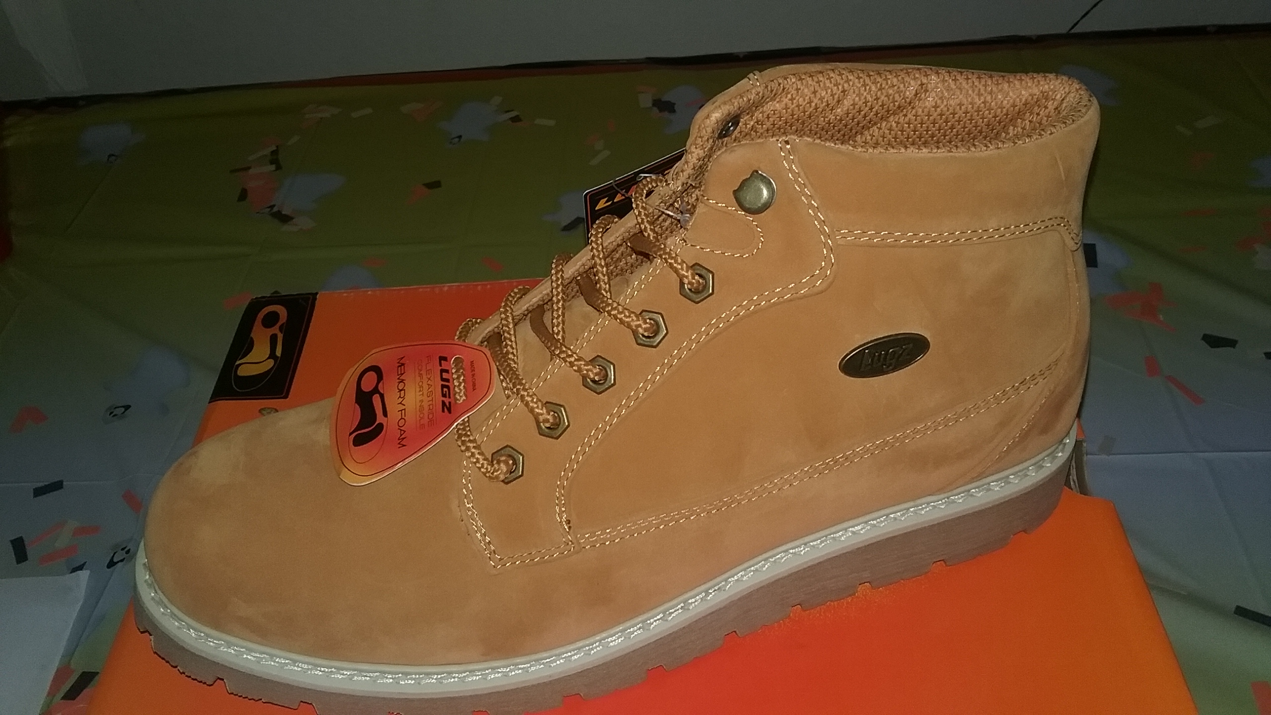 Lugz New Gravel HI, a boot your man will love!