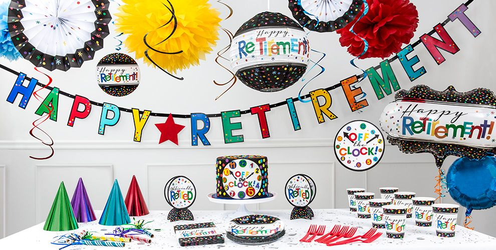 Hosting the Perfect Retirement Party. - Night Helper