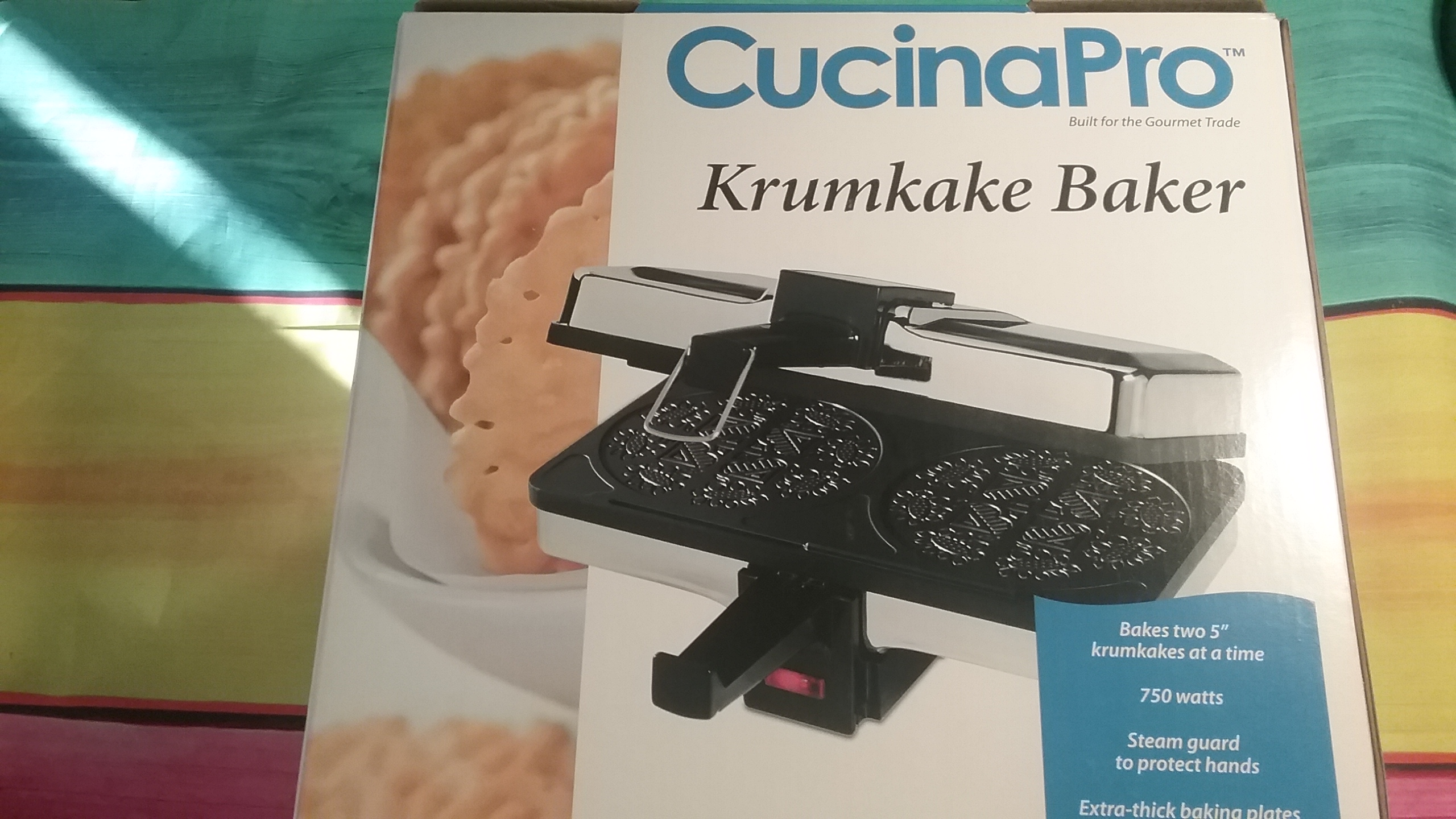 2016 Holiday Gift Guide Cucinapro Bubble Waffle Maker Krumkake