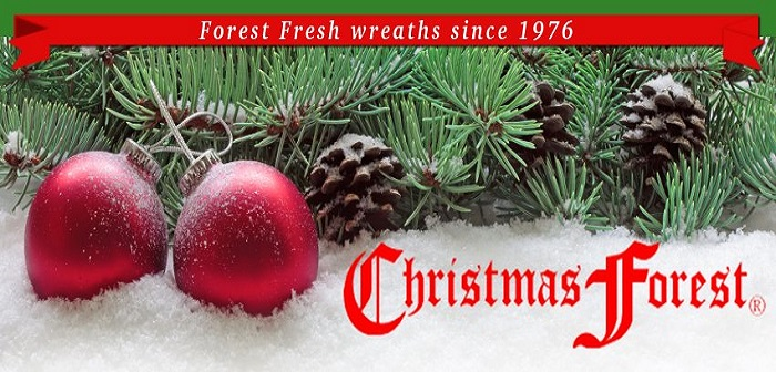 Beautiful Christmas Forest Holiday Wreaths