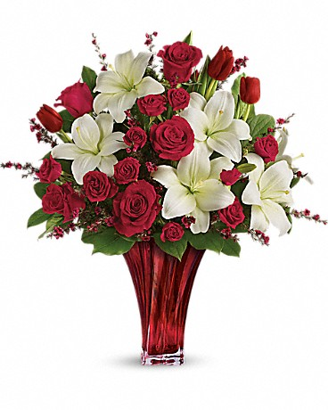 """Teleflora's """"Hand-Made with Love Bouquets"""" will bring a smile to your love one! #HandmadeByTF #Teleflora"""
