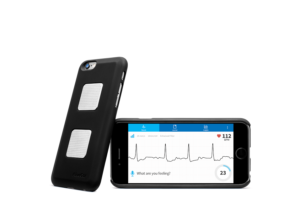 2017 Valentines Day Guide, Kardia Mobile Portable EKG by AliveCor.