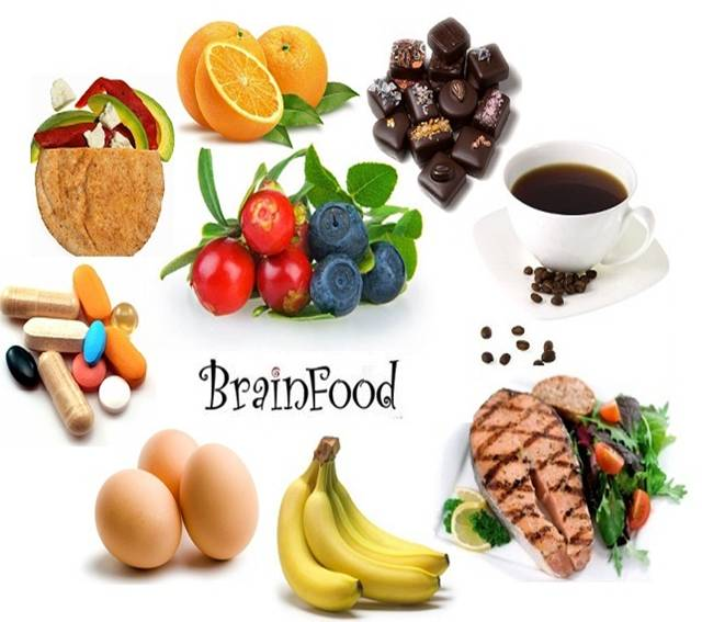 Foods Good For The Brain And Nervous System