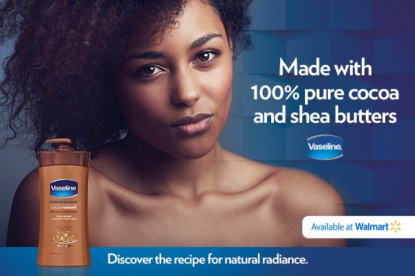 Prepare Your Skin Today With Vaseline Intensive Care Cocoa Radiant Body Lotion, available at Walmart. #CocoaRadiantBeauty #Walmart #AD
