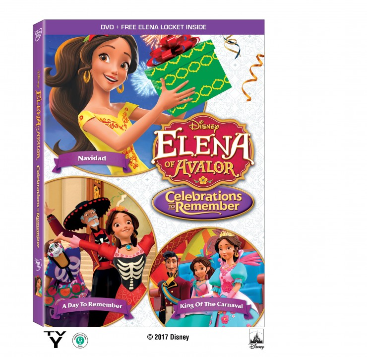 Bring Home ELENA OF AVALOR: CELEBRATIONS TO REMEMBER ON DVD