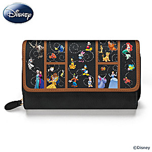 "2017 Holiday Gift Guide Featuring Carry The Magic"" Disney Women's Wallet. @BradfordEx"