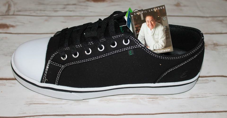 Give The Gift Of Comfort With A Pair Of Emeril Lagasse Footwear Canal Sneakers for Women! @Emeril