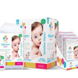 2018 Baby Gift Guide Featuring bloom BABY Wipes, perfect for any baby's skin!