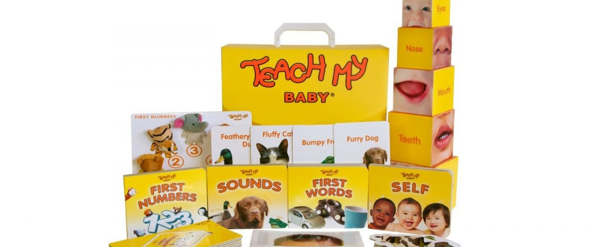 2018 Baby Gift Guide featuring Teach My Baby Learning Kit.  @teachmy