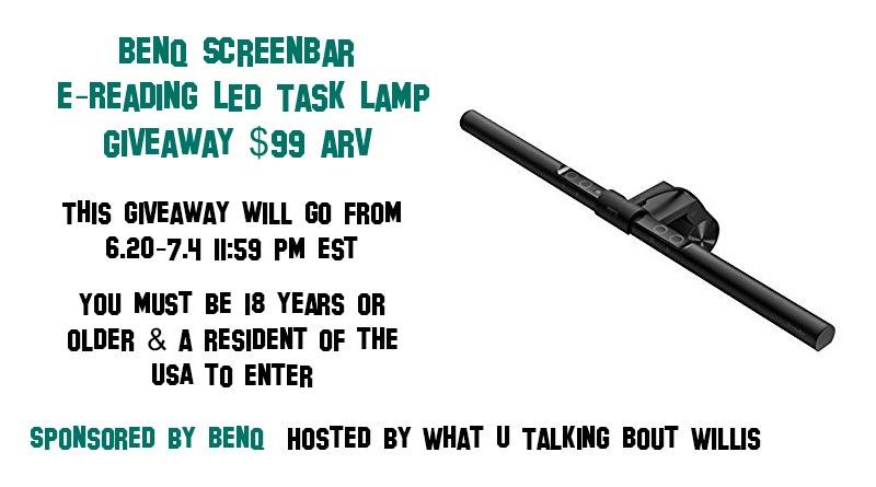BenQ ScreenBar e-Reading LED Task Lamp Giveaway