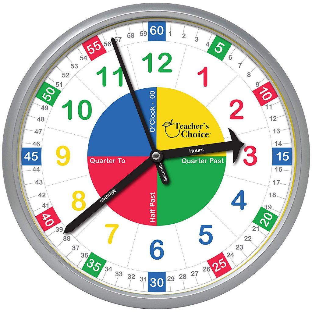Time Is Ticking With The Easy To Learn Teaching Clock Backtoschool Night Helper