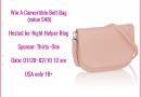 Enter To Win A Convertible Belt Bag