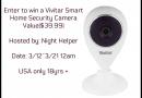 Enter to win a Vivitar Smart Home Security Camera