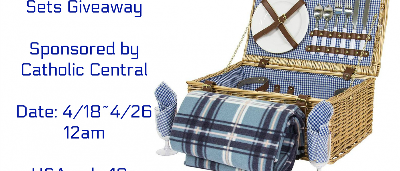 Easter Family Picnic Set Giveaway Powered By Catholic Central   #CatholicCentral & #EasterTraditions