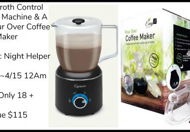 Win A Froth Capresso Machine & A EasyR Pour Over Coffee Maker