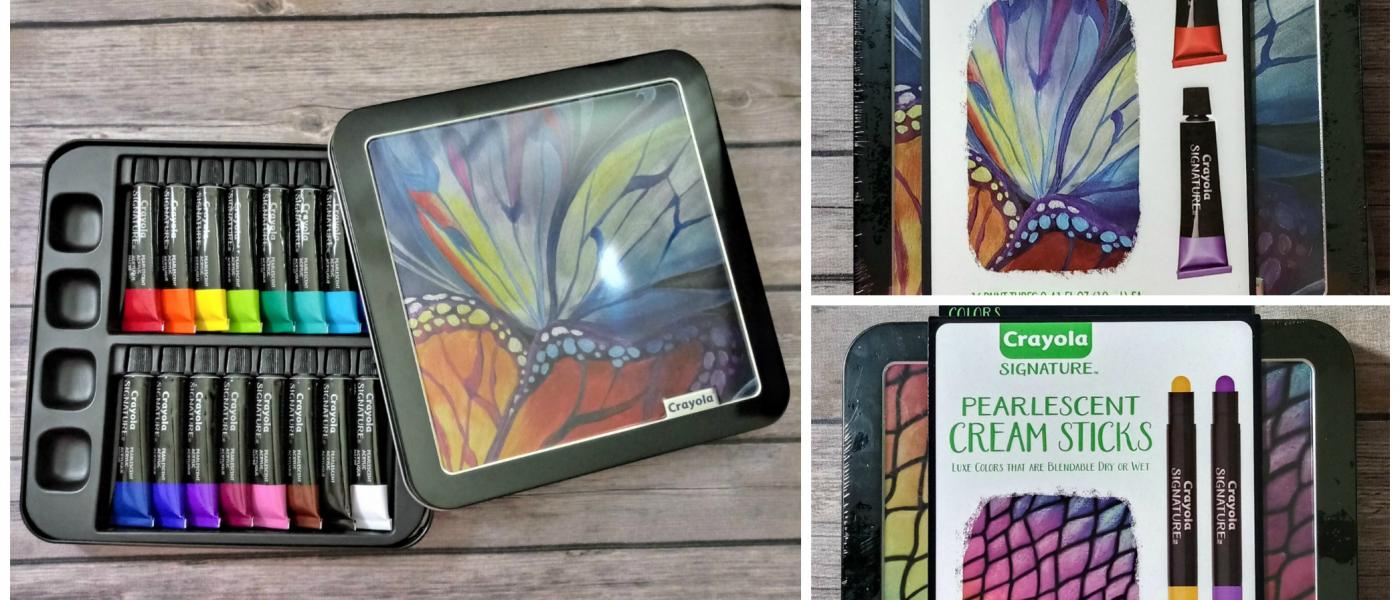 Crayola's New Signature Series Are Shining Bright This Spring!  @Crayola