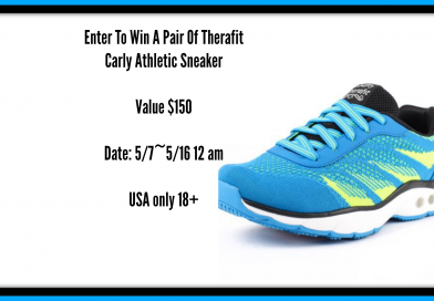 Win  A Pair Of Therafit Carly Athletic Sneakers