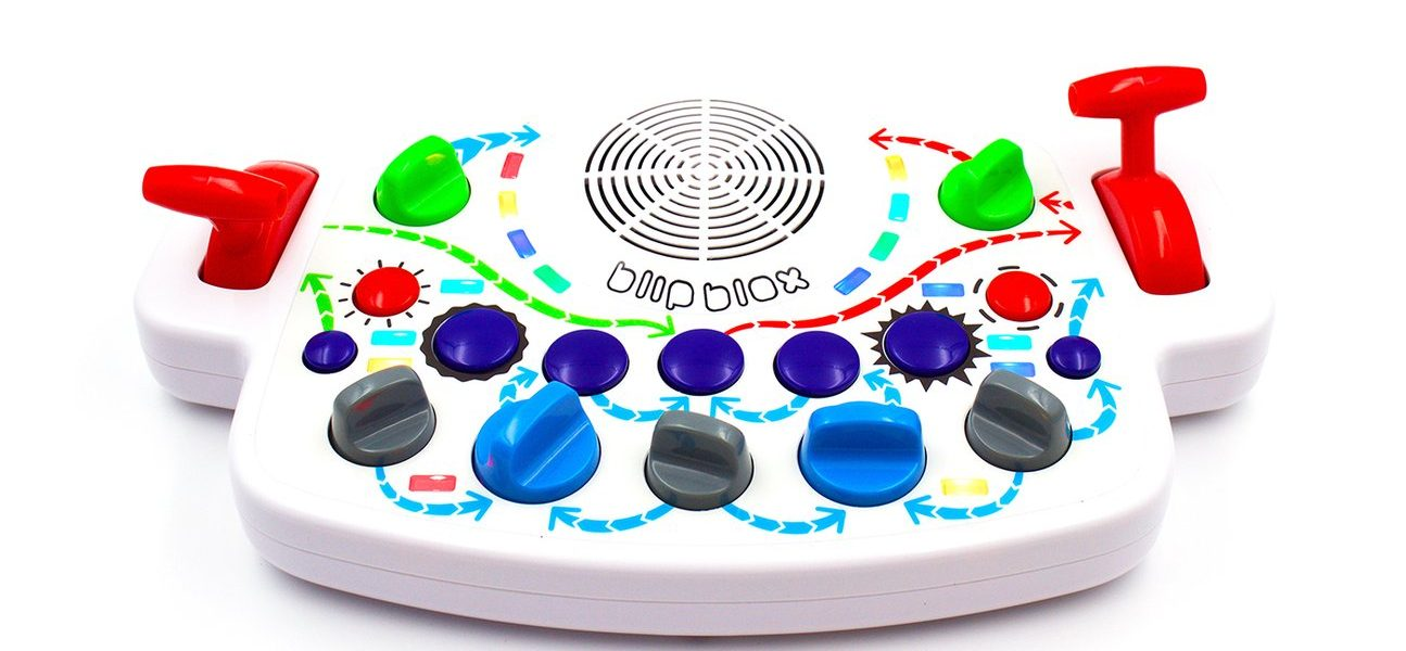 BlipBlox Synthesizer Will Allow the Whole Family to Experience Fun DJ Parties   @theblipblox