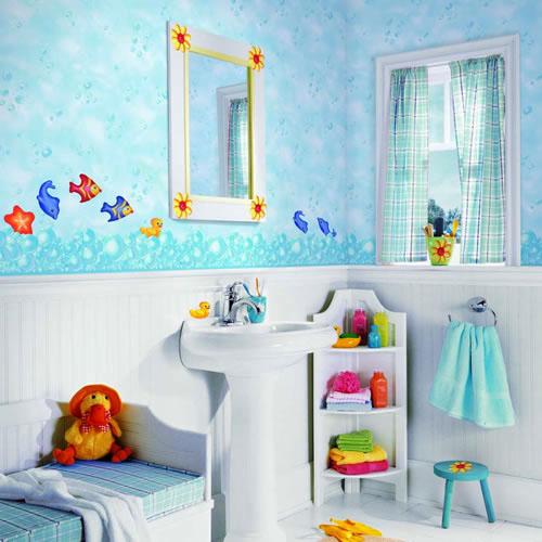 Design Ideas To Make Your Bathroom Kid