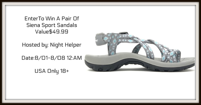 Win A Pair Of Viakix Siena Sport Sandals USA only ends 8/08